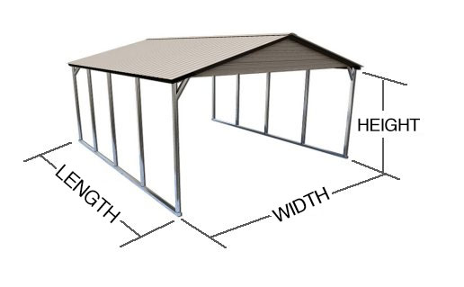 How to Measure Metal Buildings